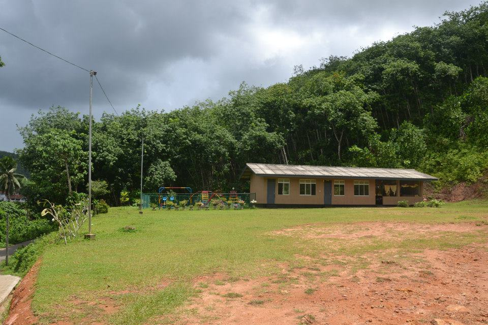 School building in Plantation Villa