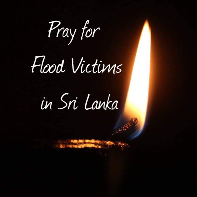 Pray for flood victims in Sri lanka