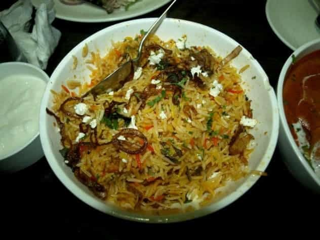 Biryani rice in rajastan