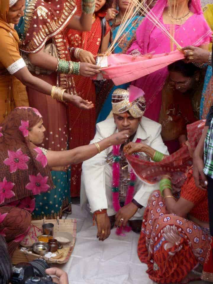 Rajasthan - Varanasi, Marriage and groom