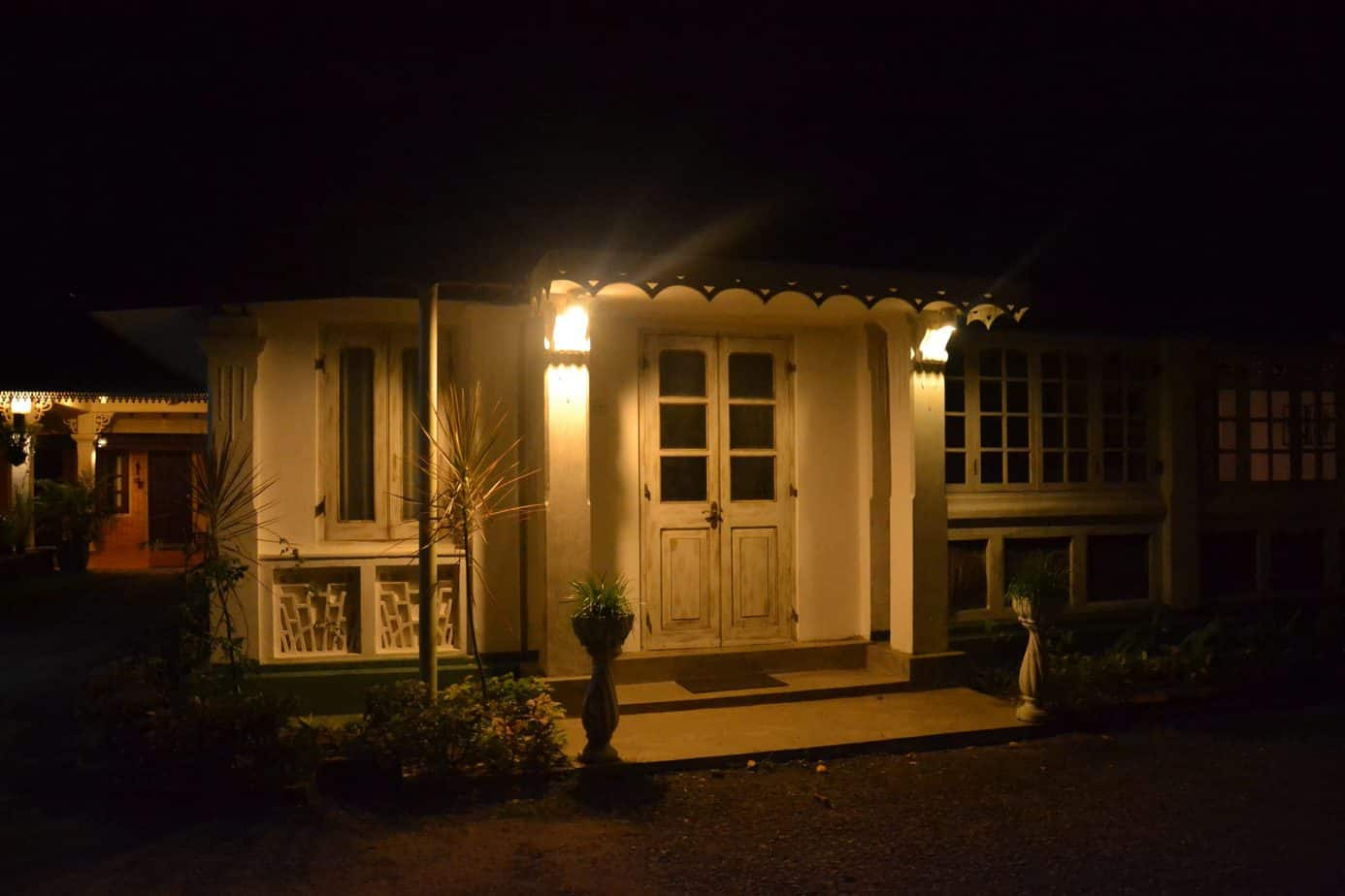 room accommodation at night