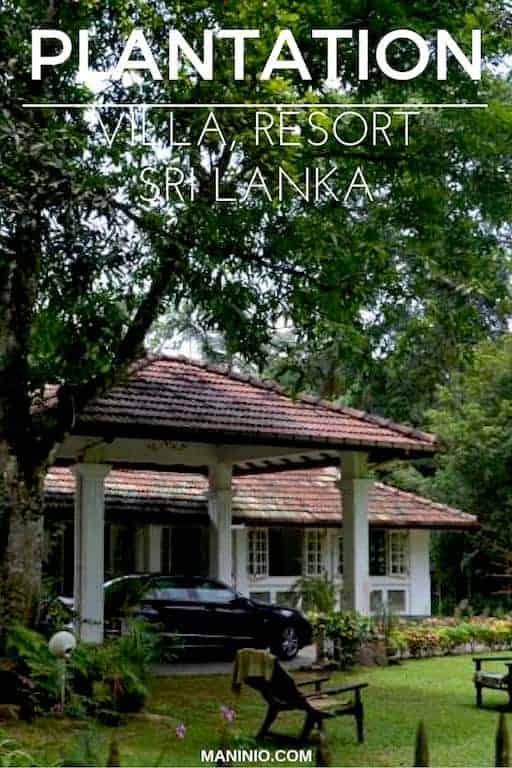 The Plantation Villa Resort – Kalutara