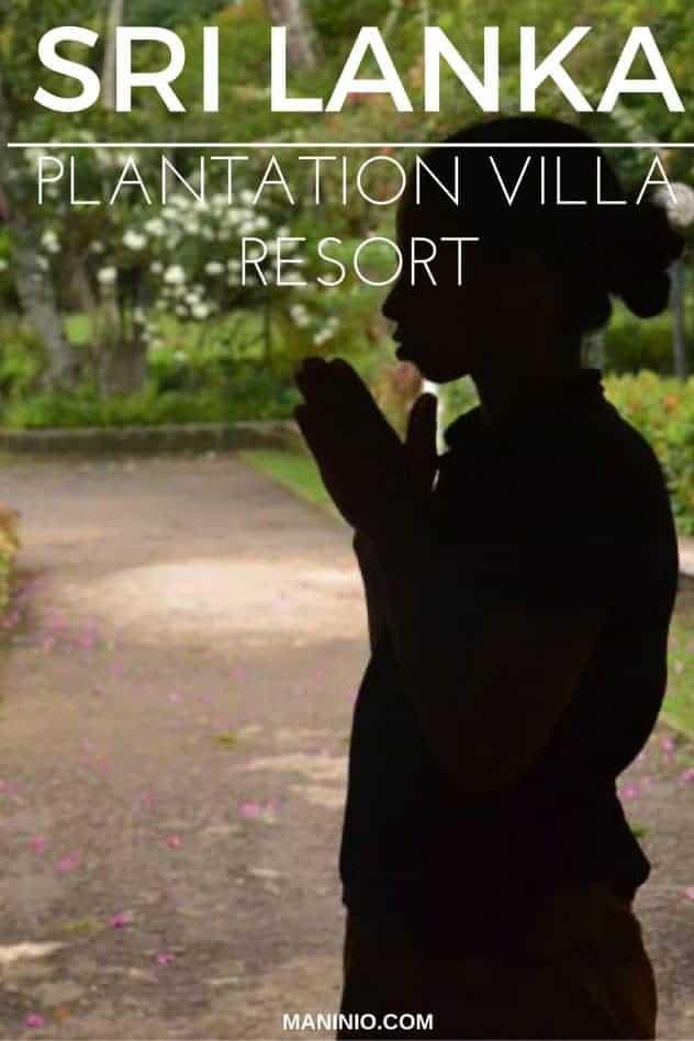 The best Plantation Villa Resort in Kalutara-Sri Lanka. maninio.com #resortsrilanka #villaresort