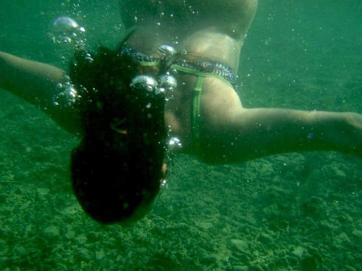 Snorkelling in Camiguin Island