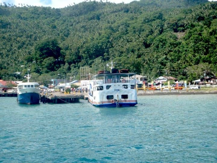 Camiguin Island ferry boats