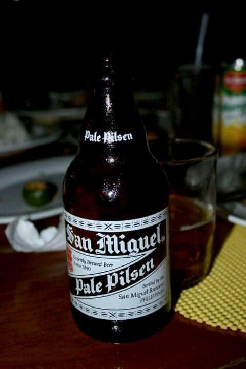 Bottle of San Miguel beer