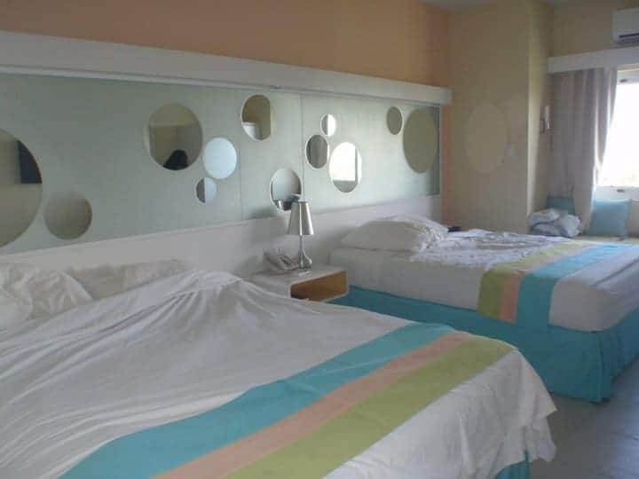 2 beds in Be resort in cebu beach resorts