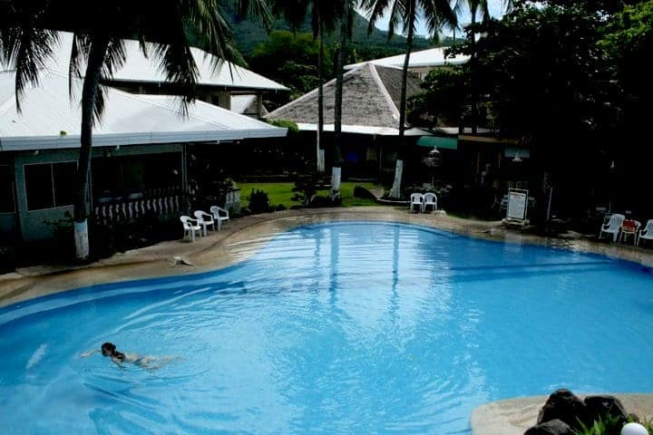 Paras swimming pool in paras beach resort