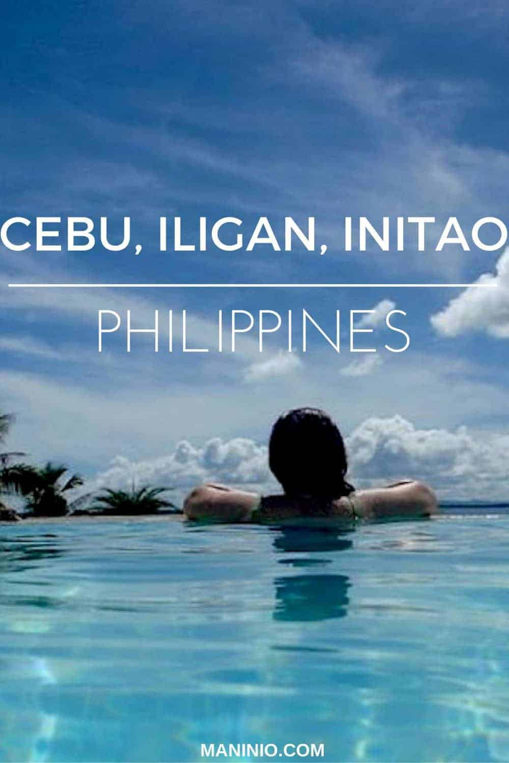 Cebu, Iligan & Initao city pinterest photo