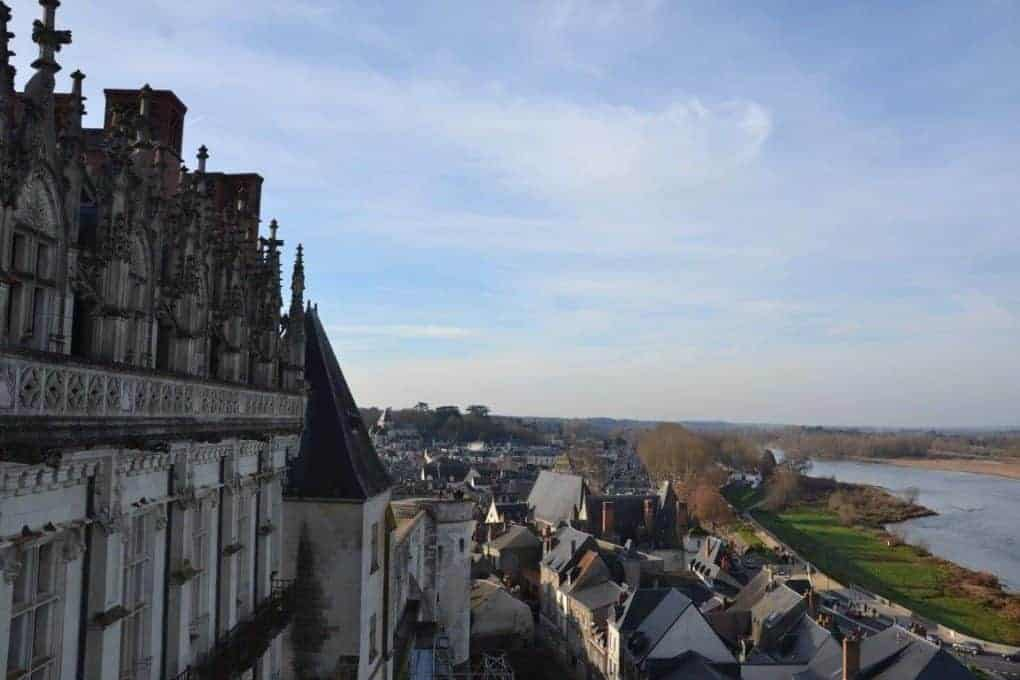 Rivers views from the Chateaux Amboise