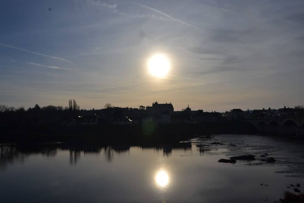 Sunset in Chateaux Amboise