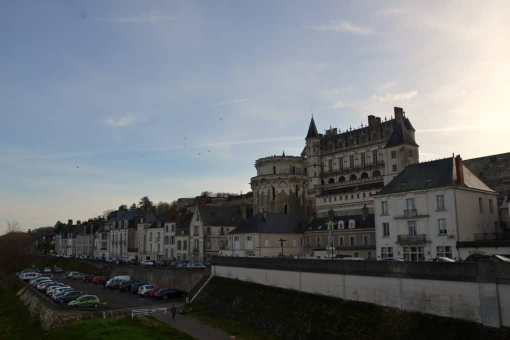 View of the Chateaux Amboise