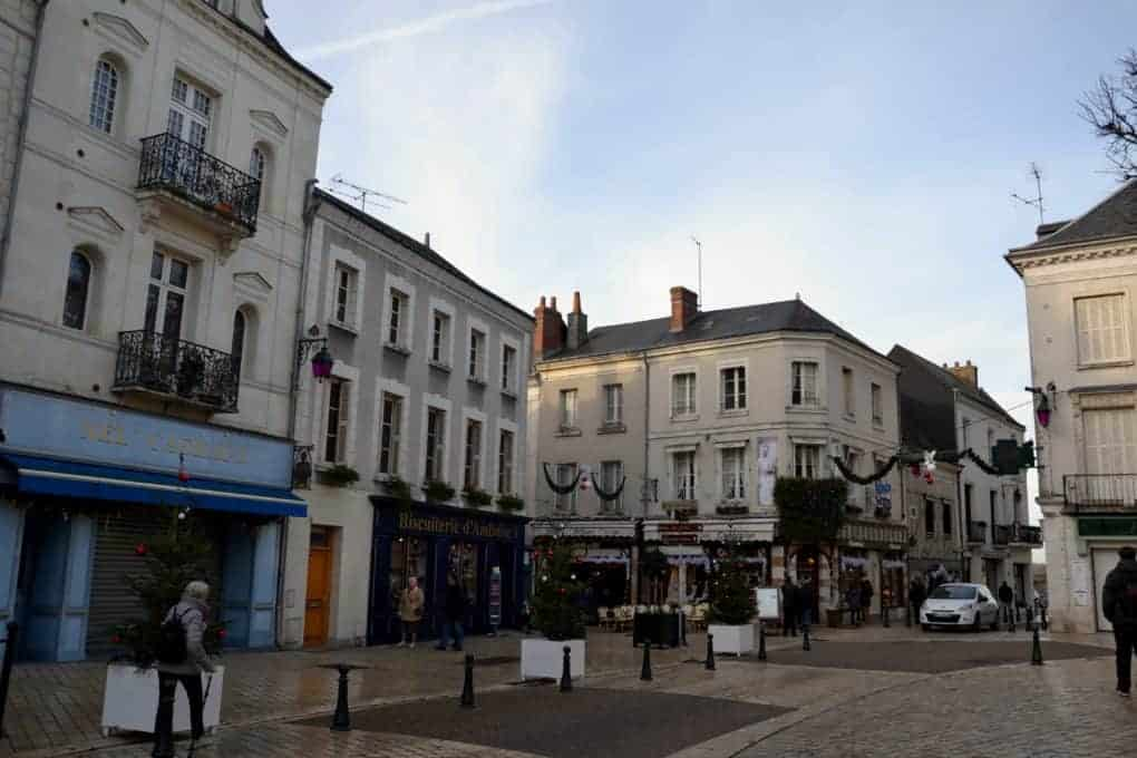 Small streets in Chateaux Amboise