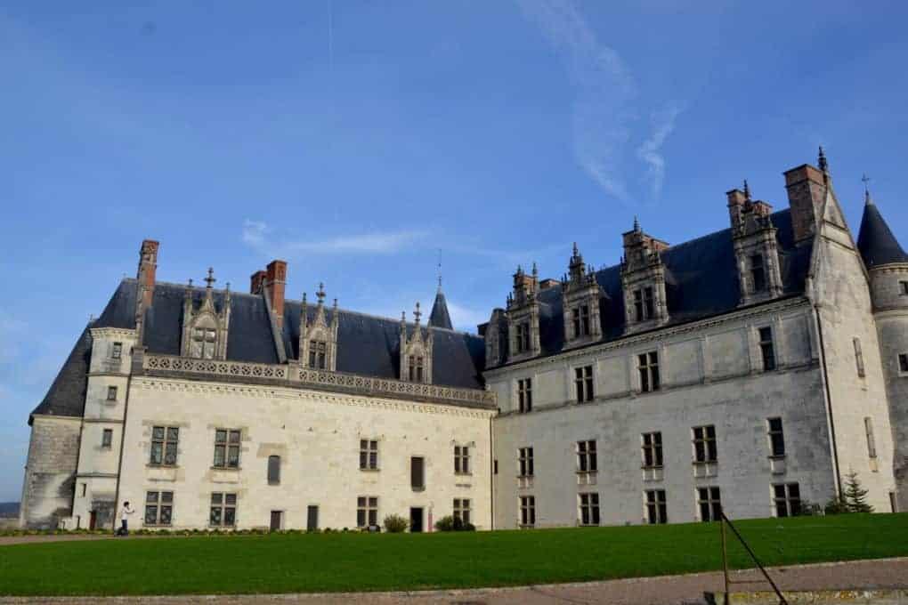 Chateaux Amboise external area
