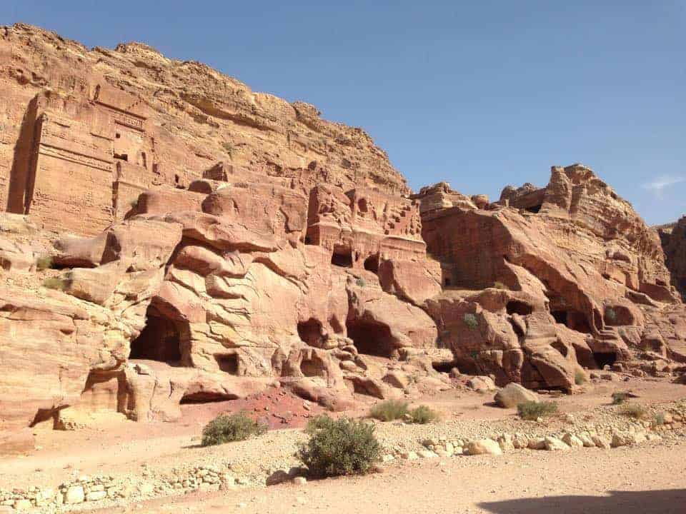 tombs - Petra - Travel