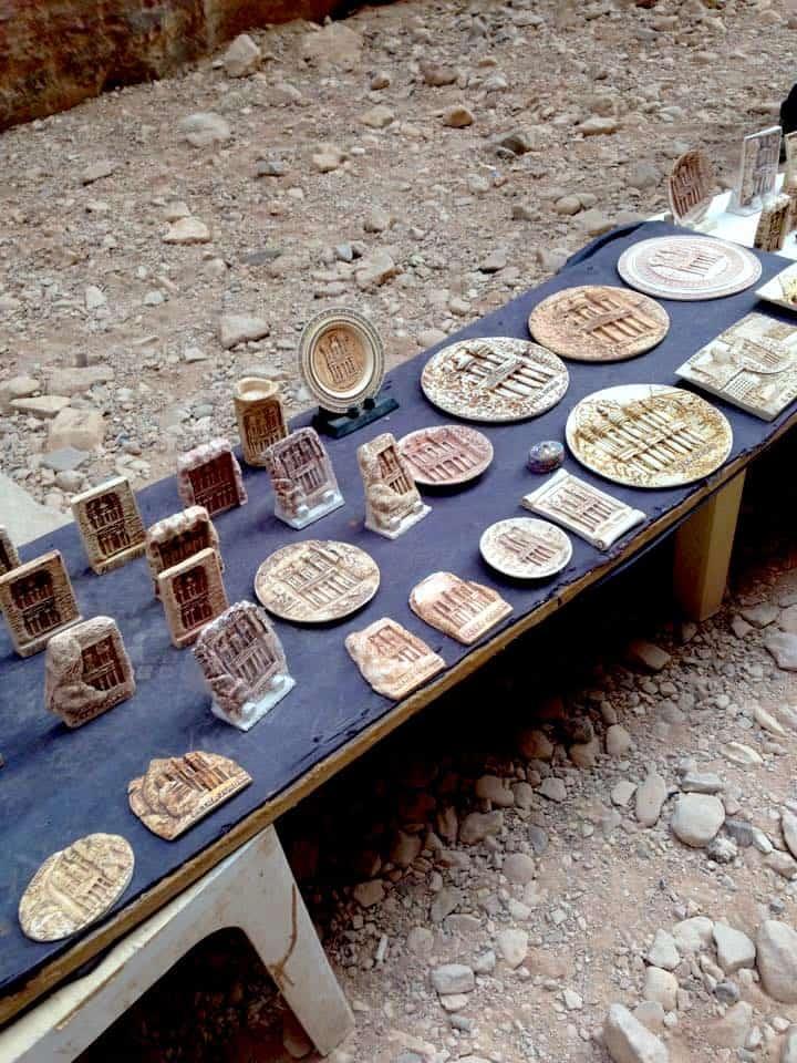 Souvenirs in Petra, Jordan
