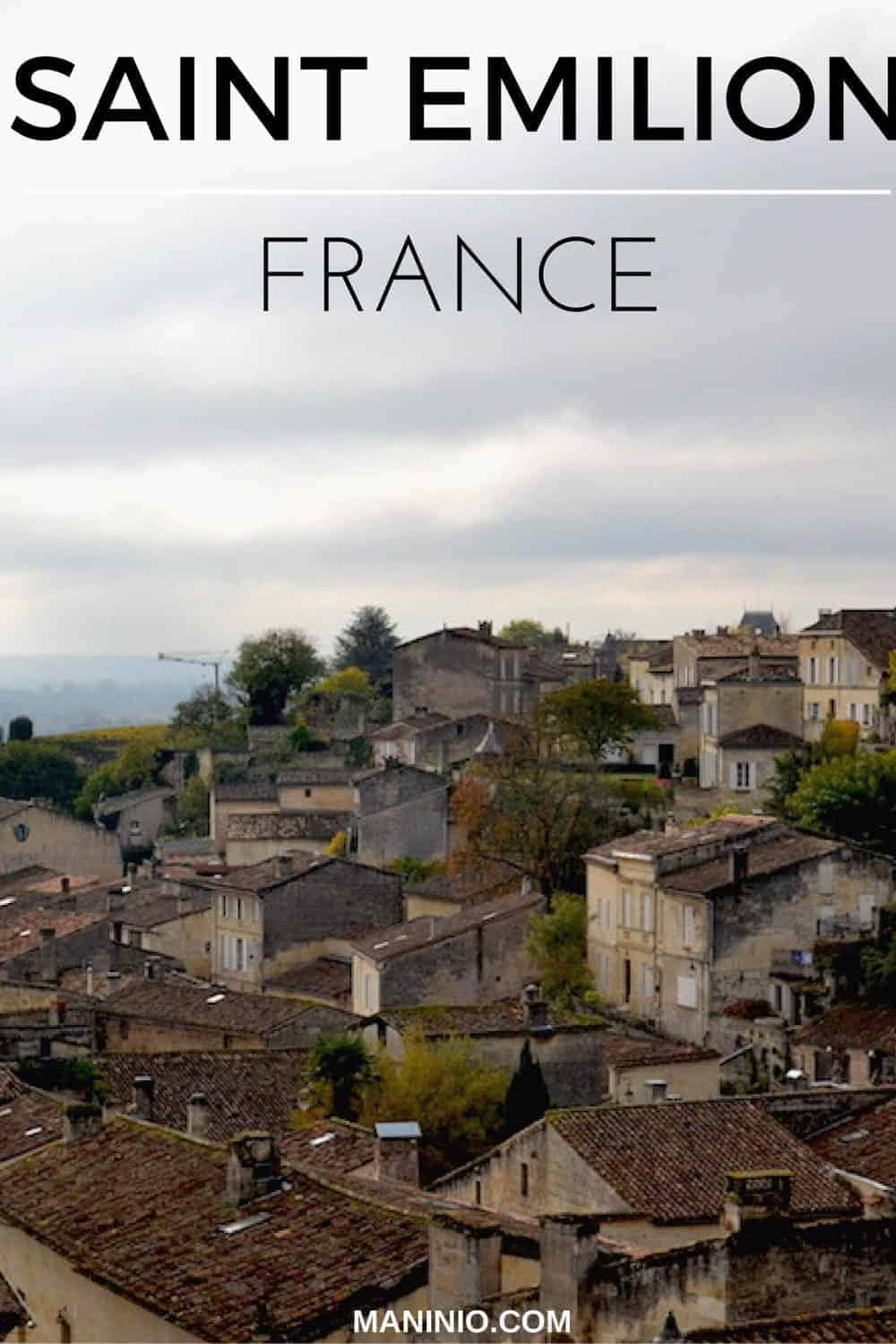 A day in Saint Emilion – France