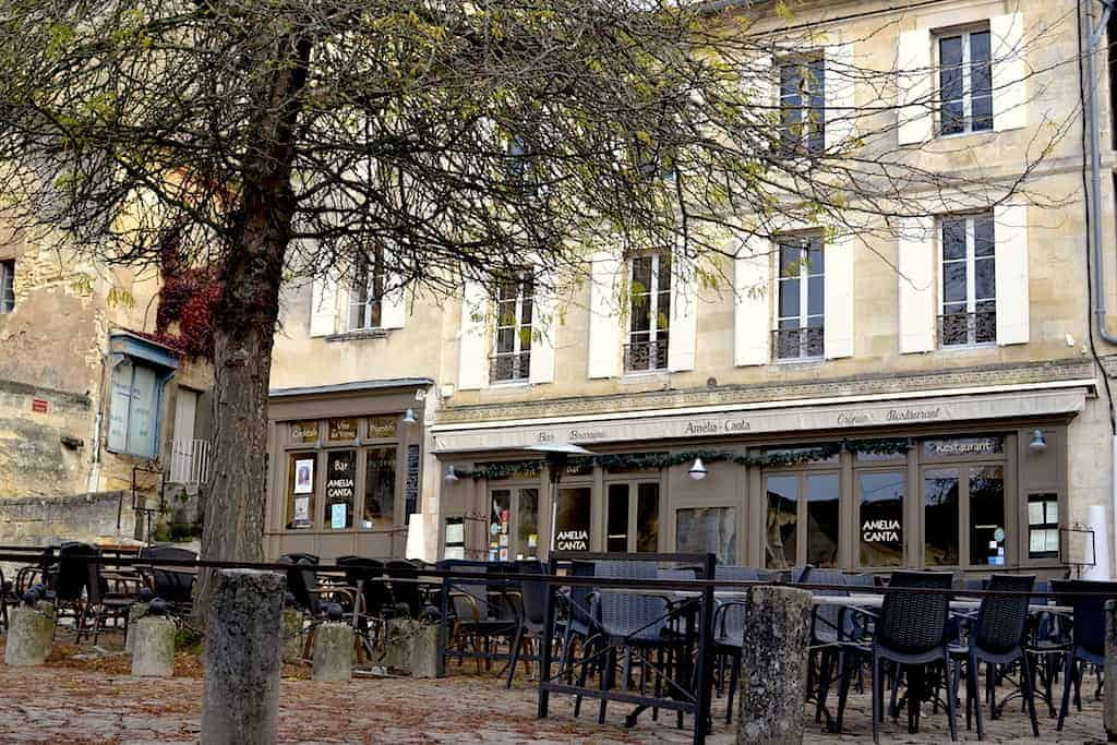 Restaurants in Saint Emilion village