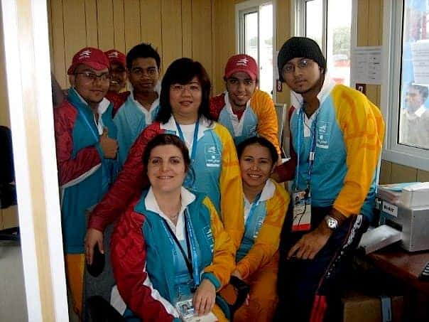 Ticketing Department in Doha Asian Games
