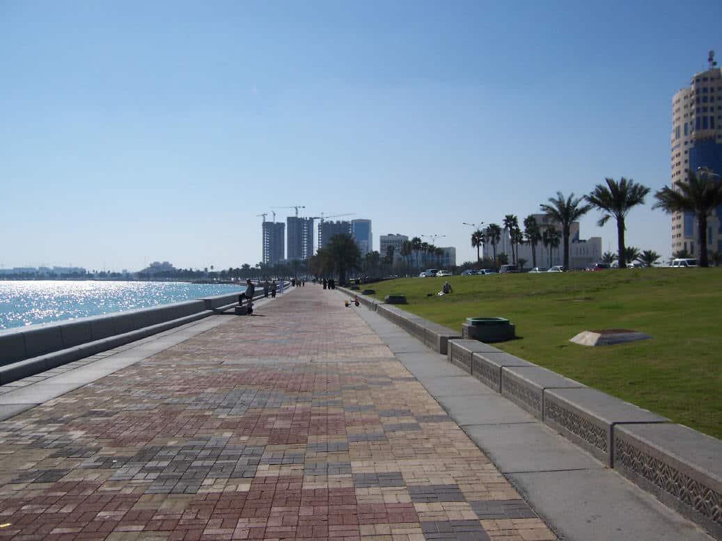 Corniche in Qatar