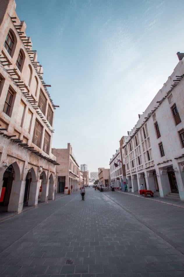 Market area -Expat Life in Qatar