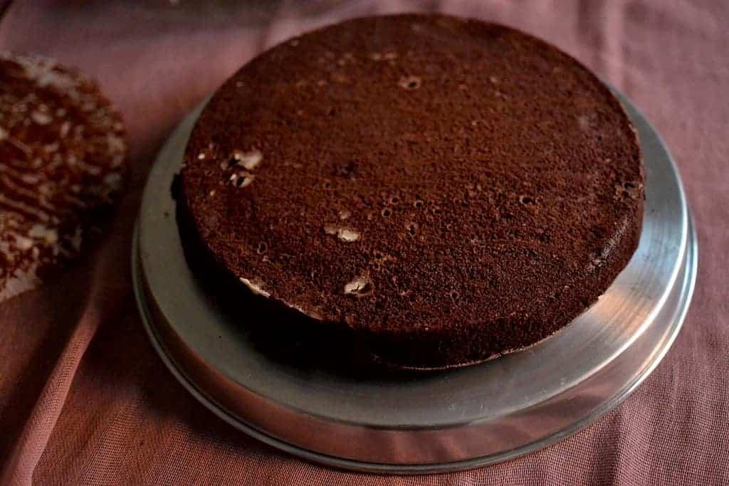 Chocolate Cake cut. maninio.com