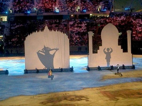 Doha Asian games opening ceremony