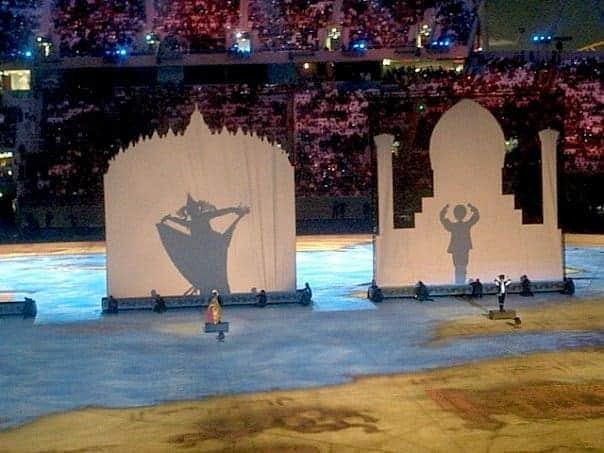 Doha Asian games opening ceremony. maninio.com #qatardohaasiangames #Eidcelebrations