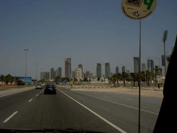 Doha highway, Expat Life in Qatar
