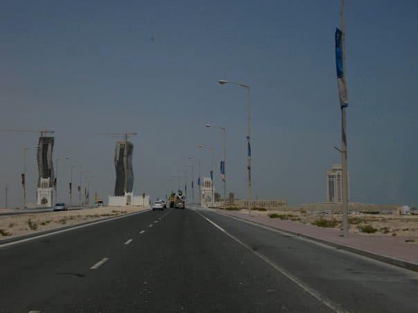Construction in Qatar. maninio.com #qatardohaasiangames #Eidcelebrations