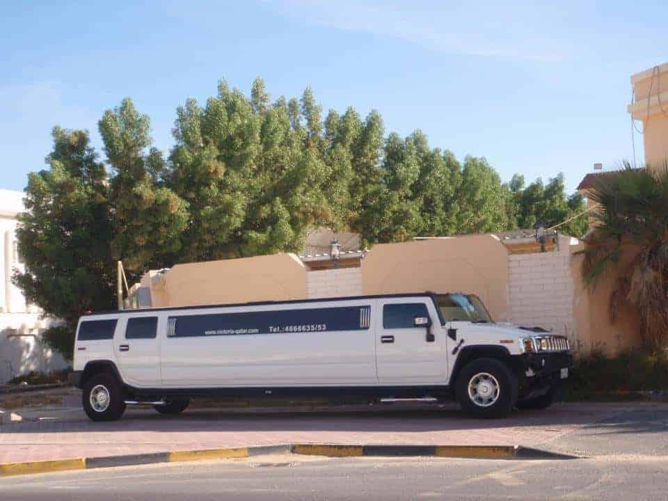Limousine in Qatar