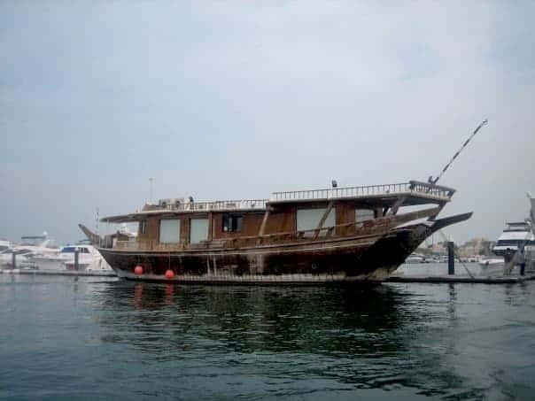 Pearl boat in Qatar