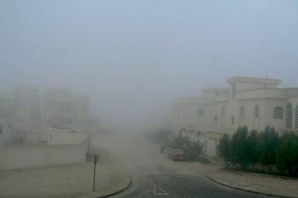 Dust in Qatar. maninio.com #qatardohaasiangames #Eidcelebrations
