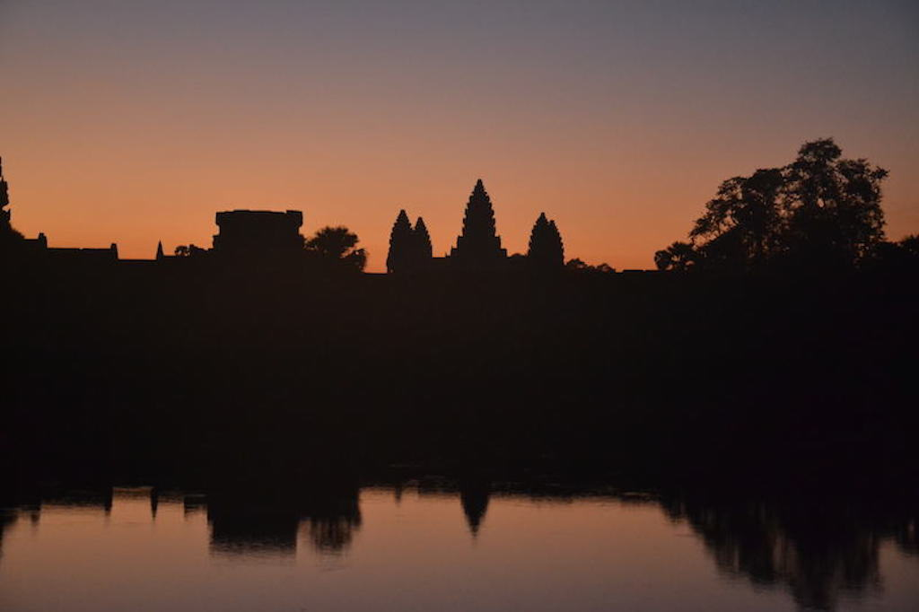 Sunrise in Angkor Wat Temple - siem reap attractions