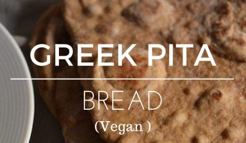 pita bread in a plate