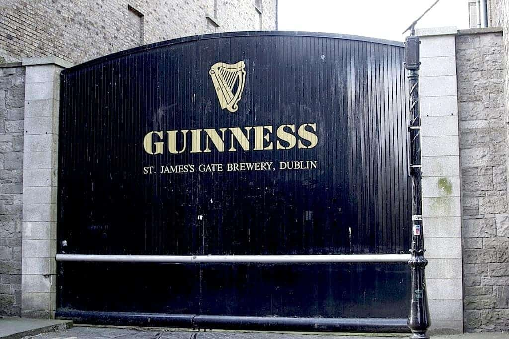 Guinness storehouse main door.
