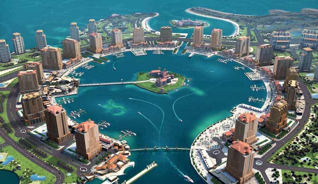 Pearl in Doha maninio.com