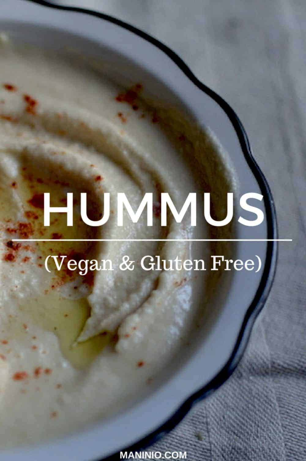 The original Arabic Hummus