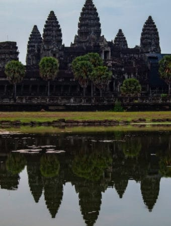 Angkor Wat temple as siem reap attractions