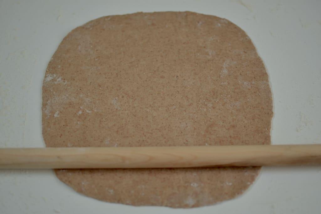 Άνοιγμα φύλλου για χορτοφαγικό σουβλάκι #άνοιγμαφύλου #βίγκαν | maninio.com