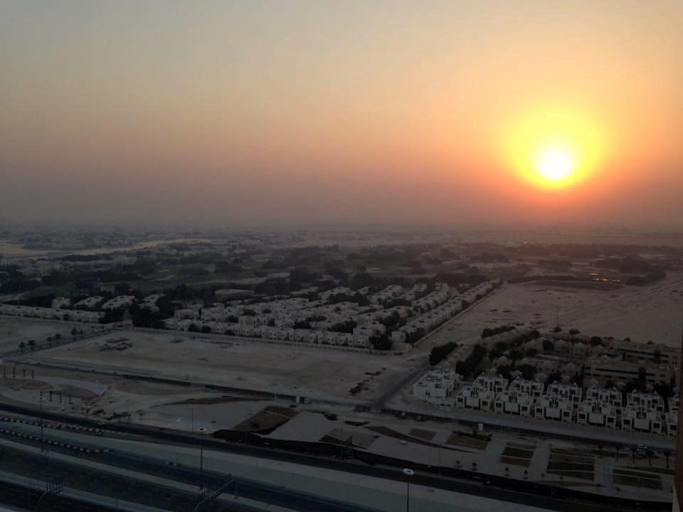 Sunset in Qatar