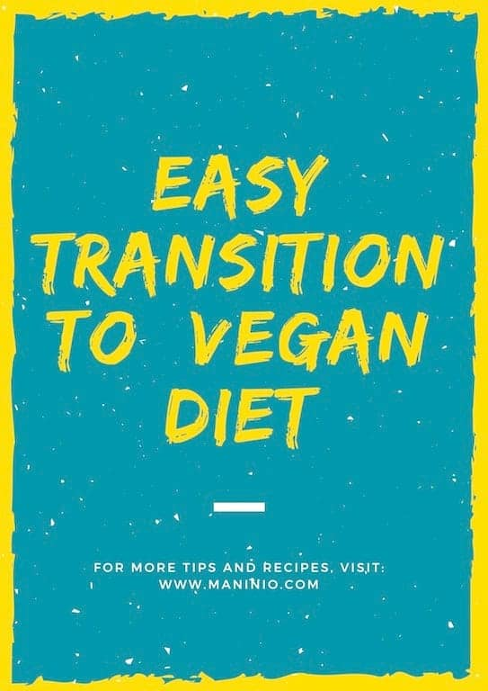 easy transition vegan fasting #veganfasting #transitiontovegan maninio.com