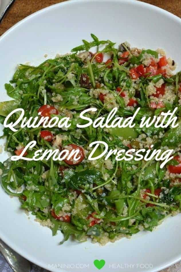 Quinoa Salad with Lemon Dressing