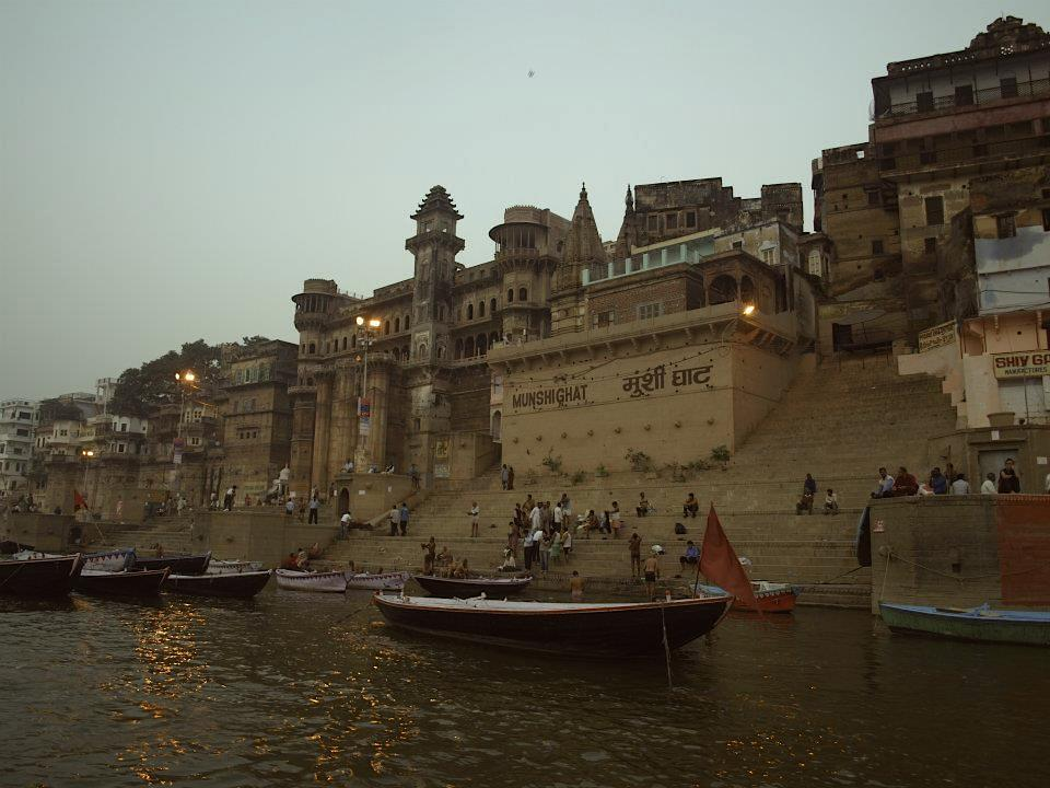 Ganges river ghates