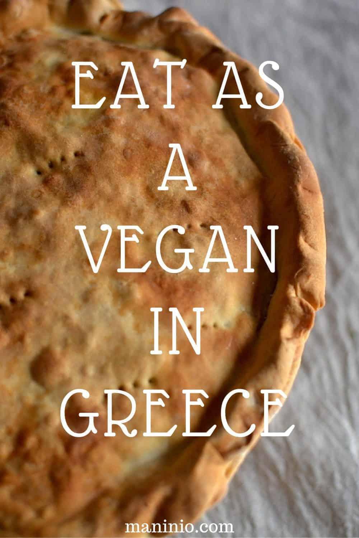 EAT AS A VEGAN IN GREECE PINTEREST