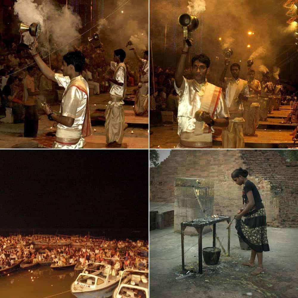 Βαρανάσι (Ινδία): Ανάμεσα στην ζωή & στον θάνατο. Τελετή Aarti. maninio.com