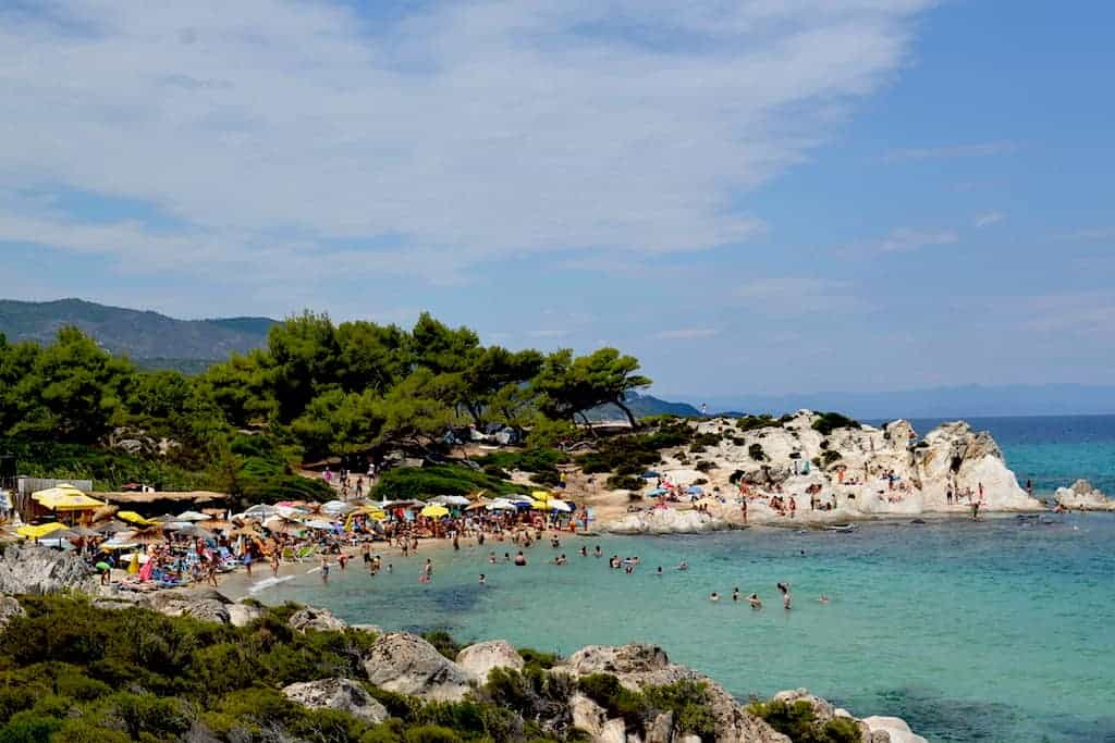 Halkidiki Beaches - Kavourotripes