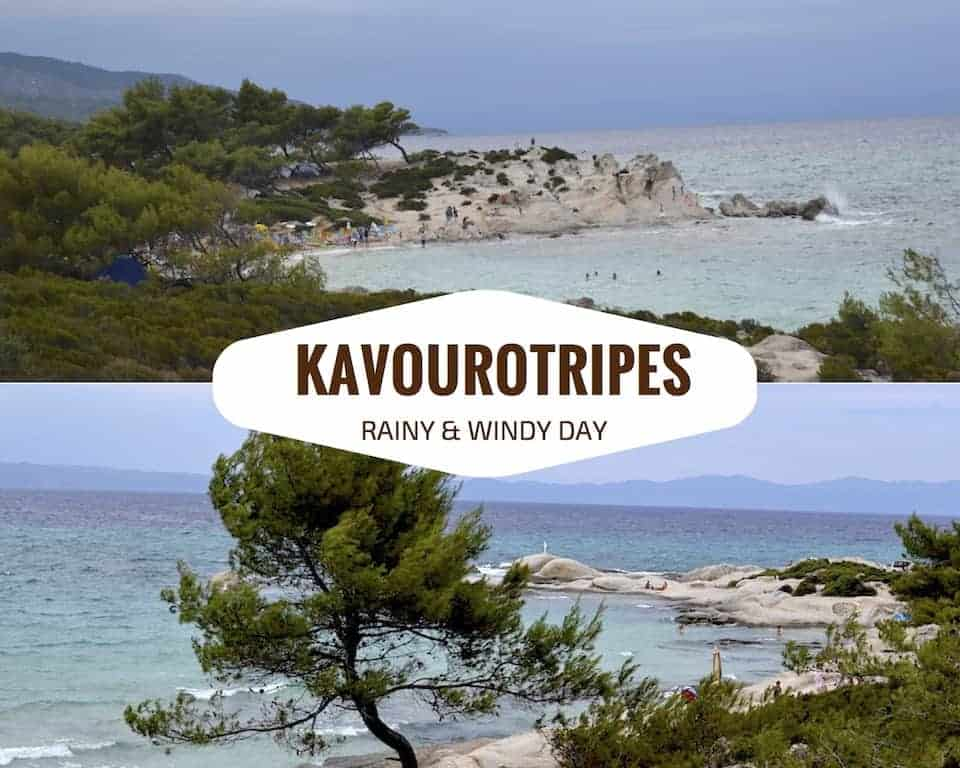 Kavourotripes Halkidiki Beaches