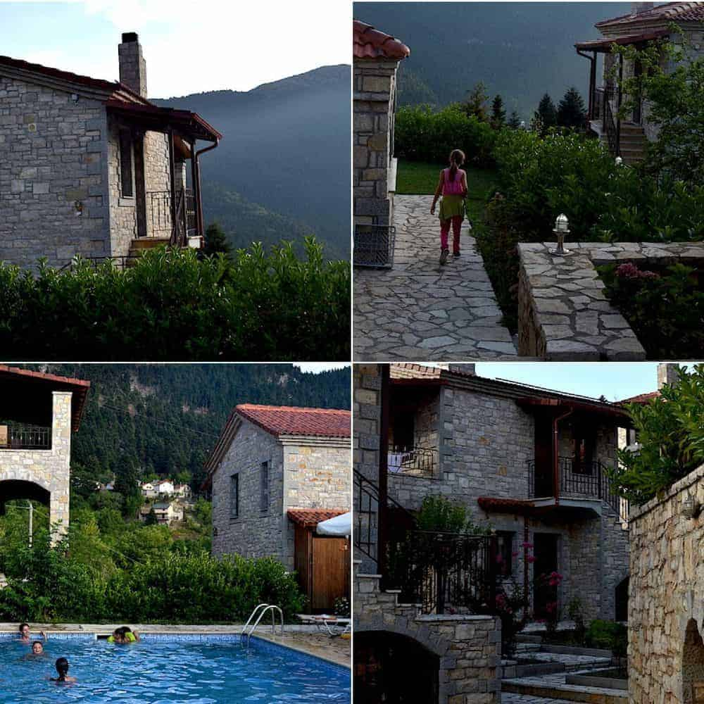 Omalia - village villas and swimming pool