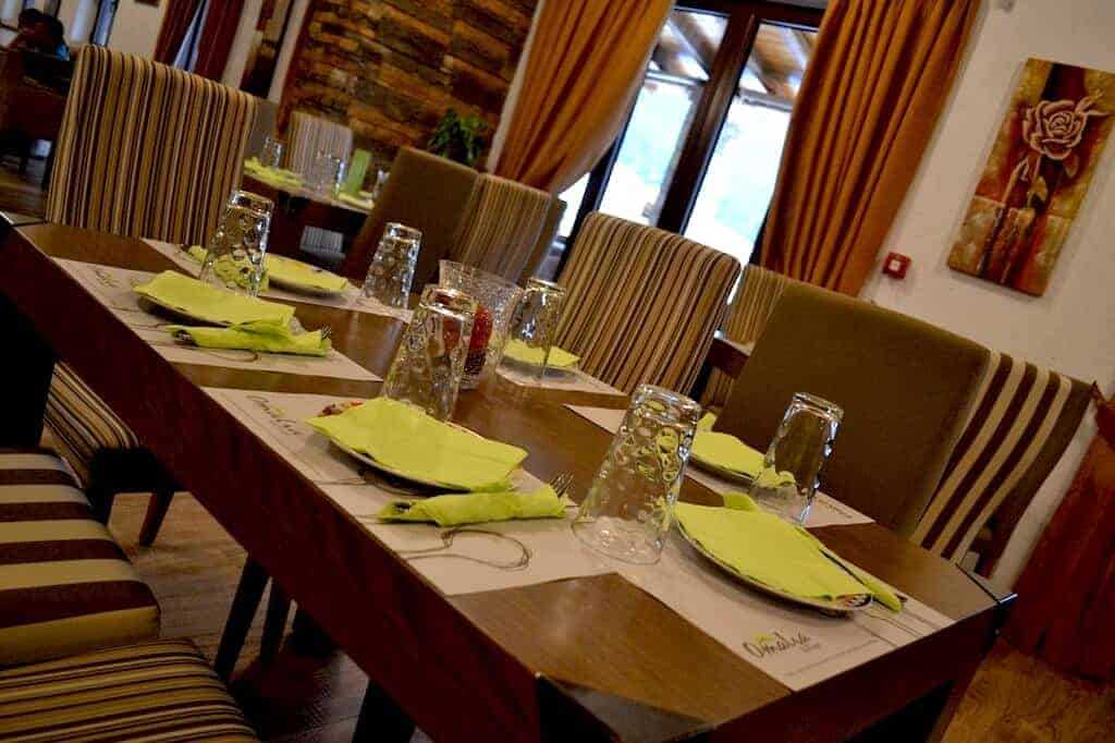 Omalia Hotel Dining Area